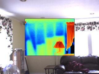 In Residential use Thermal Imaging is mostly used to identify Moisture, Insulation, air leakage, and heat loss issues.